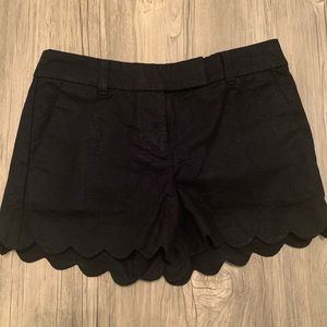 J. Crew women's scalloped shorts
